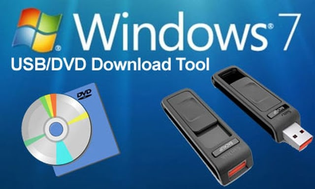 Логотип программы Windows USB/DVD Download Tool